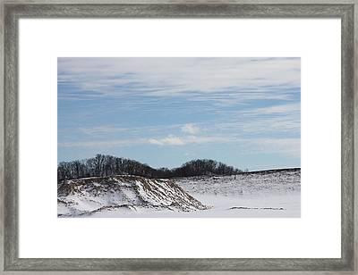 Crisp Framed Print by Julie Smith