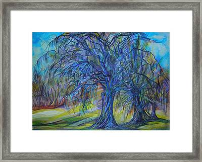 Crystal Light Framed Print