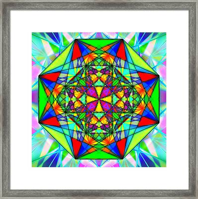 Cristal Logic Framed Print