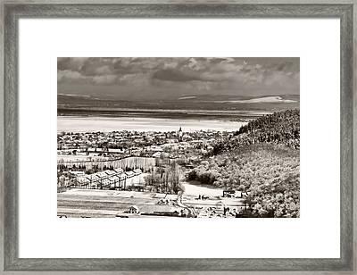 Cristian Village Framed Print by Gabriela Insuratelu