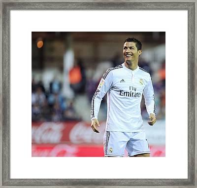 Cristiano Ronaldo 34 Framed Print