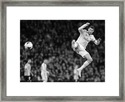 Cristiano Ronaldo 35 Framed Print