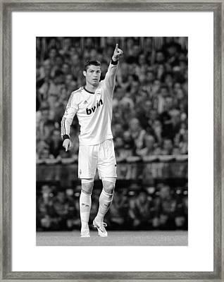 Cristiano Ronaldo 36 Framed Print