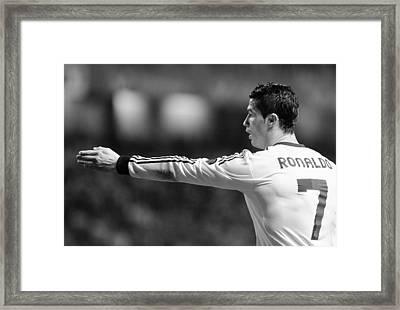 Cristiano Ronaldo 37 Framed Print