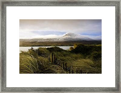 Croagh Patrick, County Mayo, Ireland Framed Print by Peter McCabe