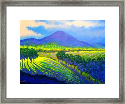 Croagh Patrick County Mayo Framed Print by John  Nolan