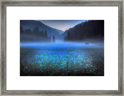 Croatian Valley Framed Print