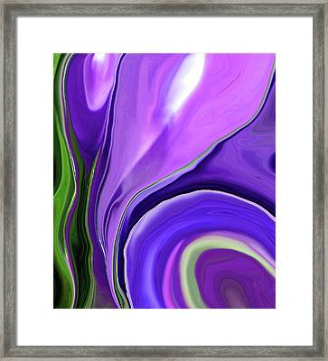Crocus Abstract15 Framed Print
