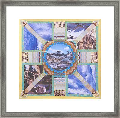 Earth Meets Sky Framed Print