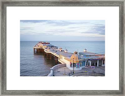 Cromer Pier Framed Print by Tom Gowanlock