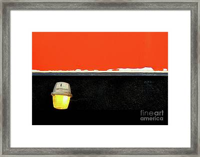 Crooked Framed Print by Ethna Gillespie
