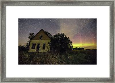 Crooked House  Framed Print by Aaron J Groen