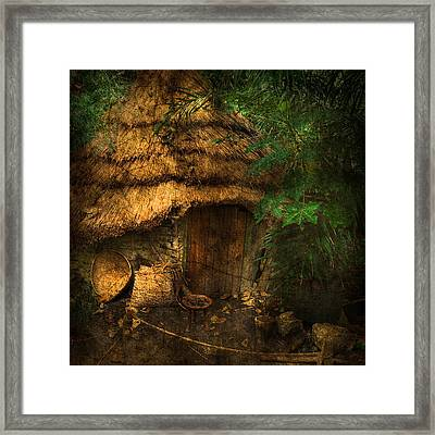 Crooked House Framed Print by Svetlana Sewell