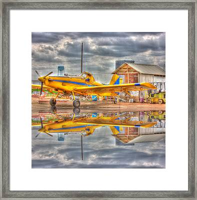 Crop Duster 001 Framed Print