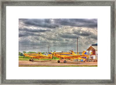 Crop Duster 003 Framed Print