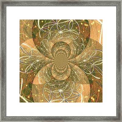 Crop Of Life II Framed Print