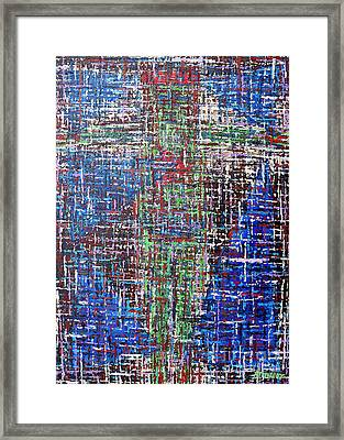 Cross 2 Framed Print by Patrick J Murphy