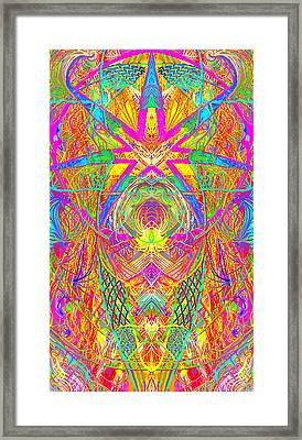 Cross 3 11 17 Framed Print