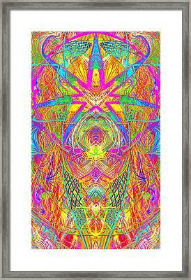 Cross 3 11 17 Framed Print