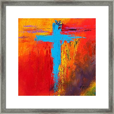 Cross 3 Framed Print by Kume Bryant
