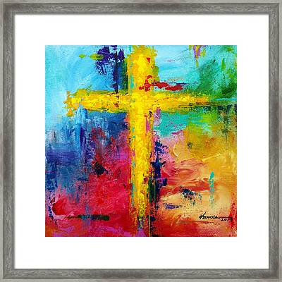 Cross 7 Framed Print