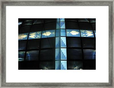 Cross Channels Framed Print by Jez C Self