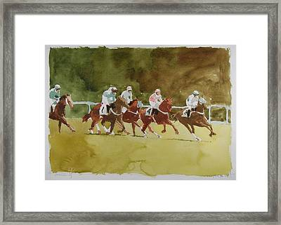 Cross Country Framed Print by Stephen Rutherford