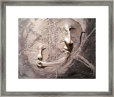 Cross Cultural Framed Print by Kime Einhorn