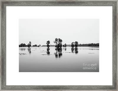 Cross Lake Tranquility Framed Print