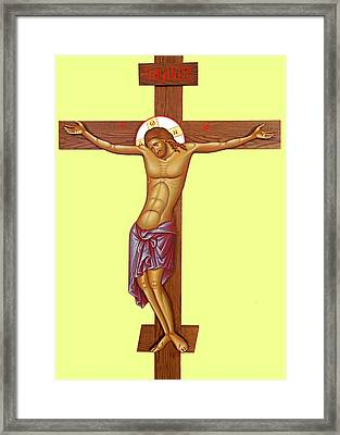 Cross Framed Print by Munir Alawi