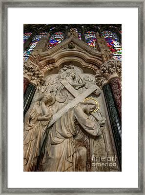 Cross Of Calvary Framed Print