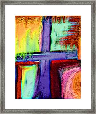 Cross Of Hope Framed Print