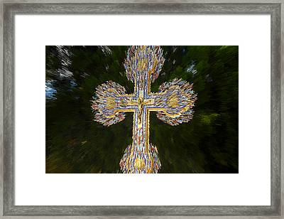 Cross Of The Epiphany Framed Print
