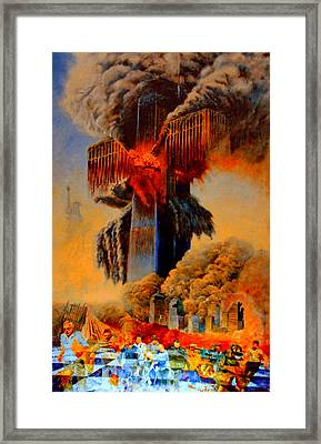 Cross Of The Third Millennium Framed Print by Henryk Gorecki