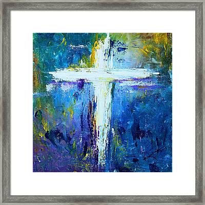Cross - Painting #4 Framed Print by Kume Bryant