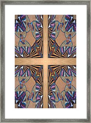Cross Reflections Framed Print by Ricky Kendall