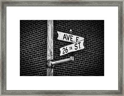 Framed Print featuring the photograph Cross Roads by Darren White