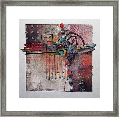 Cross Roads Framed Print