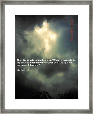 Crossed 16 24 Framed Print by SeVen Sumet