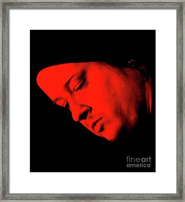 Framed Print featuring the photograph Crossed by Jesse Ciazza