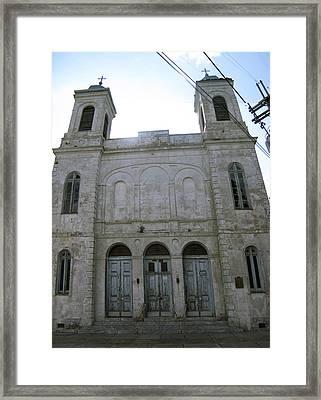 Crossed Framed Print by Tom Hefko