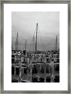 Crosses Framed Print
