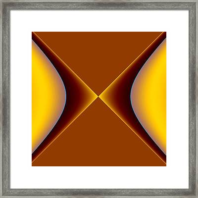 Framed Print featuring the digital art crossing III by Dragica  Micki Fortuna