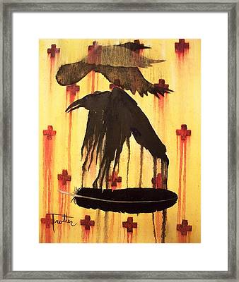 Crossing Paths Framed Print by Patrick Trotter