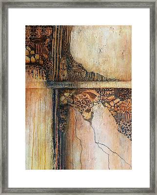 Crossing Paths With Ambiguity Framed Print