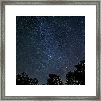 Crossing The Milky Way 3 Framed Print