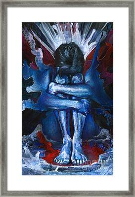 Crossing The Rubicon Framed Print by Michael Volpicelli