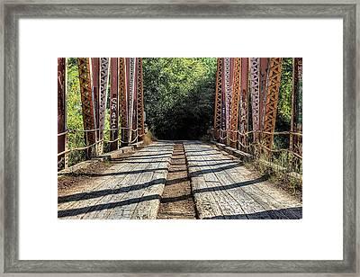 Crossing The Sepulga  Framed Print