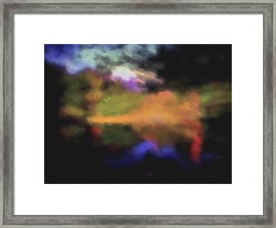 Crossing The Threshold Framed Print by William Horden