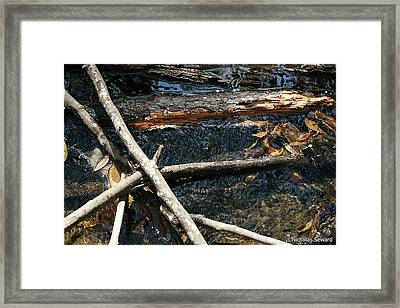 Crossing Waters Framed Print by Nicholas Seward